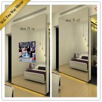 Quality one way two way mirror glass 2mm 3mm 4mm 6mm for sale