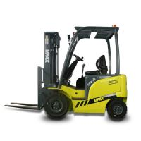 Quality Chinese 1.5 Ton Electric Four Wheel Drive Forklift With Side Shifter / AC Motor for sale