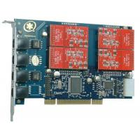Quality TDM410P 4 Port with 4 FXO Modules Asterisk Card for Voip for sale