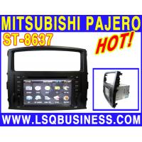 Quality 7 Inch HD TFT LCD Screen MITSUBISHI DVD Player With USB / Radio / Bluetooth  For MITSUBISHI PAJERO ST-8637 for sale