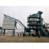 Quality Double Stroke Cylinder Stationary Asphalt Batch Mix Plant 45 Seconds Per Batch for sale