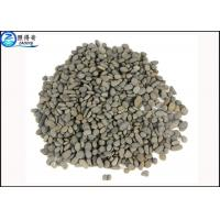 Quality Grey Natural Pebbles Underwater Decoration Fish Aquarium Gravel / Fish Tank Stones for sale