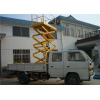Quality Red Vehicle Mounted Work Platforms 150 - 560kg Load For Street Lamp Repairing for sale