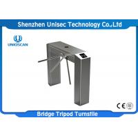 China Dual Direction Tripod Security Turnstile Gate UT550-C Access System 304 Stainless Steel on sale