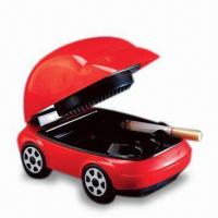 Quality USB Smokeless Ashtray with Red LED Headlights and 2 x AA Batteries for sale