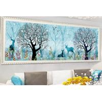 Quality Diamond Embroidery 5D Diy Diamond Painting Cross Stitch forest and Deer Round Diamond Mosaic Animals Home Paintings hobb for sale
