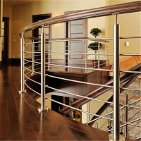 Quality SS316 metal handrails for decks with 8mm solid rod bar design for sale