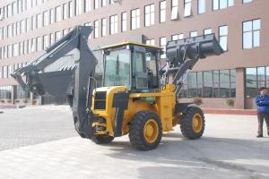 Quality WZ30-25 10 Ton 2500r/Min Tractor Loader Backhoe With Four Wheels Drive for sale