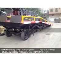 Buy moveable Dock Ramp,hydraulic ramp for forklift,hydraulic loading platform,loading platform at wholesale prices