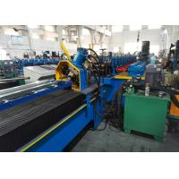 China Diagonal Bracing Section Roll Forming Machine; Warehouse Rack C Bracing Rollformer on sale