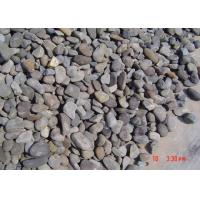 Quality 30-50mm Outdoor Decorative Landscaping Stone Natural Black River Rock Pebbles for sale