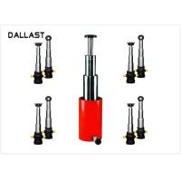 Buy 3 / 4 Stage Telescopic Hydraulic Ram / Single Acting Hydraulic Cylinders for at wholesale prices