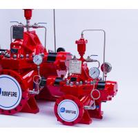 Quality NM Fire Diesel Engine Driven Fire Pump Ductile Cast Iron Casing 200 GPM 185 PSI for sale