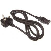Quality 250 Volt PDU UK Appliance Power Cord IEC C15 BS 1363 Male End for sale