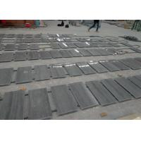 Quality Wood Blue Marble Kitchen Floor Tiles , Interior Real Stone Floor Tiles for sale