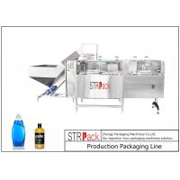 Quality 10000BPH Automatic Bottle Unscrambler Machine High Speed For Round / Flat Bottles for sale