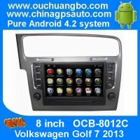 China Ouchuangbo Android 4.2 DVD Radio GPS Navi for Volkswagen Golf 7 2013 3G Wifi Audio SD WIFI on sale