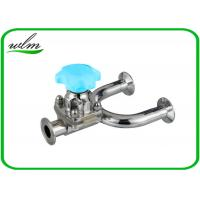 Quality 1.4435 / 316L Stainless Steel Diaphragm Valve Hygienic Grade , U Shaped for sale