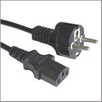 Quality European cord set VDE approval power supply cord with C13 for sale