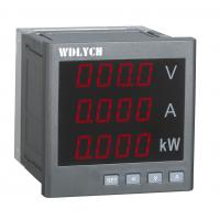 Quality Single Phase Current Digital Panel Meter , Multifunction Panel Meter 80*80mm for sale