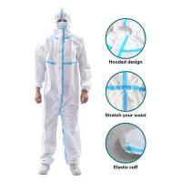 Quality Anti Virus Disposable Isolation Gown , Hospital Waterproof Isolation Gown for sale
