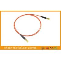 China OM2  MPO MTP Fiber Cable MT - MT Patch Cords For QSFP + AOC Modules on sale