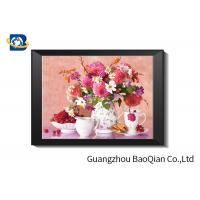 Quality Eco - friendly Flowers 3D Lenticular Pictures For Home Decoration A3 A4 Size for sale