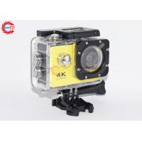 OEM Yellow Camera Sports HD DV Wifi Underwater Diving With 1 Year Warranty
