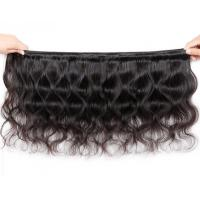 Quality Natural Red Peruvian Body Wave Hair Bundles 18 Or 20 Inch Hair Extensions for sale