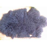 China Factory Cheap Wholesale Extra Long Sheepskin Tibetan Lamb fur Pelt rug for Home