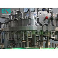 Quality 3 in 1 Carbonated Drink Filling Machine Sus 304 Material With Washer / Filler / Capper for sale