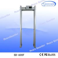Quality SD-600F multi-zones walk through metal detector, Security doors, walk through gate for sale for sale
