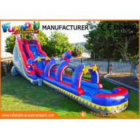 Buy cheap Silk Printing Commercial Banzai Inflatable Water Slides For Outdoor Entertainmen from wholesalers