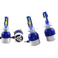 Quality COB Motorcycle LED Headlight Bulbs High Low Beam , HB2 LED H4 Headlight Conversion Kit for sale