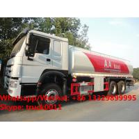 Quality HOT SALE!high quality and bottom price SINO TRUK HOWO 20,000Liters bulk oil tank truck/ diesel tank delivery truck for sale