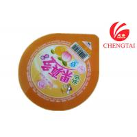 Quality Eco-Friendly Peelable Laminated Printing Cup Sealing Film Nontoxic for sale