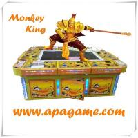 Quality 8P monkey king wukong catching fish shooting video gambling amusement indoor game machine hot sale for game center for sale