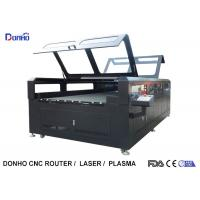 Quality Double Protective Cover Co2 Laser Cutting Machine For Fabric / Crystal / Acrylic / Wood for sale