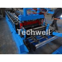 Quality 0.8-1.5mm Thickness Cold Roll Forming Machine For Making Traverse Machine With Motor 11KW for sale