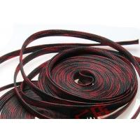 China Cable Harness Flexo PET Expandable Braided Sleeving Management Easy Bending on sale