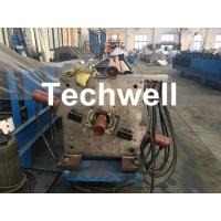Quality Aluminum Or Galvanized Steel Round Downspout Roll Forming Machine For Making Water Pipe, Rainwater for sale