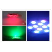 Quality Reusable Remote Controlled Submersible LED Light With RGB , 16 Color Changing for sale