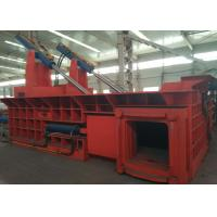 Quality 200t dual drive hydraulic pressing scrap steel baling PLC control automatic baler for sale