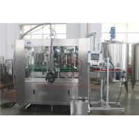 Quality Monoblock Beverage Drink Can Filling Machine Electric Nitrogen Injection for sale