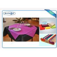 Quality Slices / Rolls Packed Non Woven Polypropylene Tablecloth for Catering Business for sale