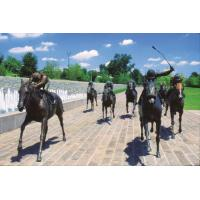 Quality High quality  miniatary lexington painted bronze horse statues for sale