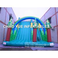 China Adults / Kids Forest Inflatable Slip N Slide With Digital Printing 3 Years Warranty on sale