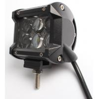 4 Inch 18W 6 Cree LED 4D Double Row Work Light Bar Spot Beam Offroad Driving Fog