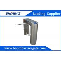 Quality NO / NC 304 Stainless Steel Tripod Turnstile Gate For Indoor Office Building for sale