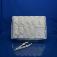 Quality White cotton hot/cold disposable towel for sale